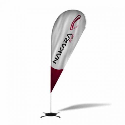 Oriflammes-beachflag-windflag Nakara sport
