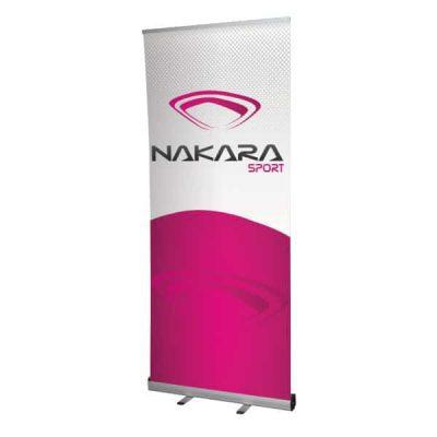 Roll-up enrouleur kakemono Nakara Sport