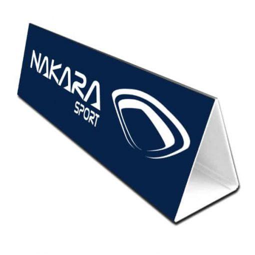 Toblerone-Nakara Sport pour habillage terrain de hand, volley, basket
