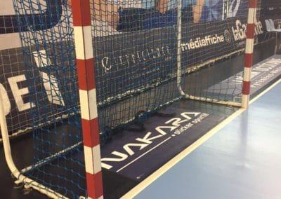 Pub terrain de handball