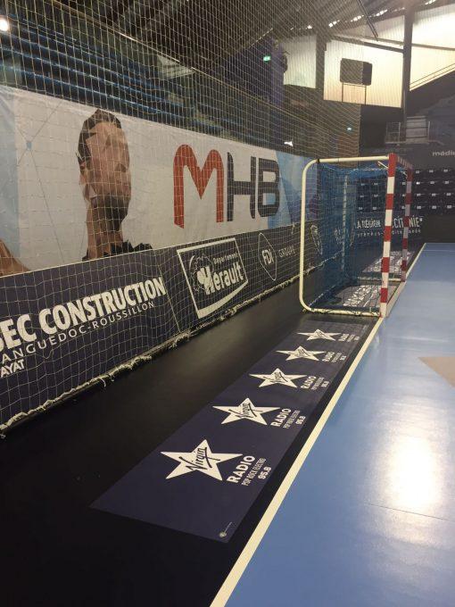 Panneau Pub terrain de handball