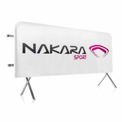 Habillage Barrière Vauban - Nakara Sport