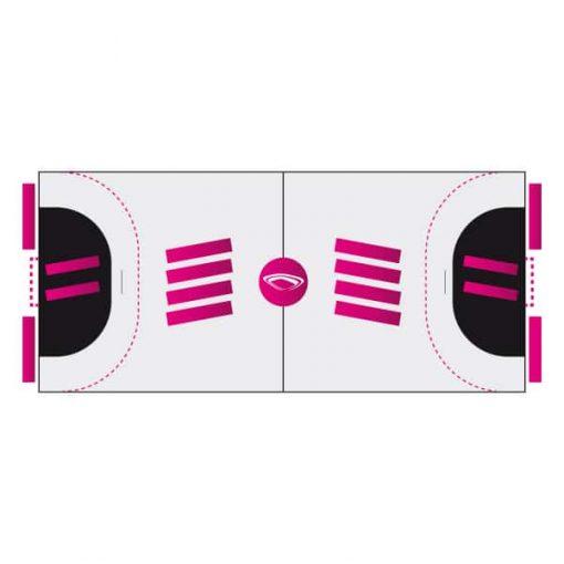 Sticker pour sol sportif - Nakara Sport