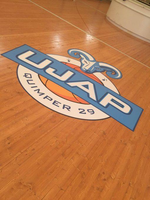 Sticker avec decoupe de forme - UJAP