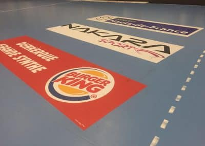 Stickers repositionnables IND'N'GO pour sols sportifs