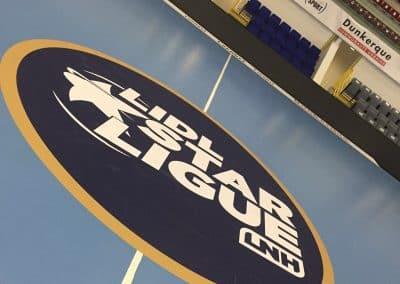 Sicker repositionnable IND'N'GO rond central handball