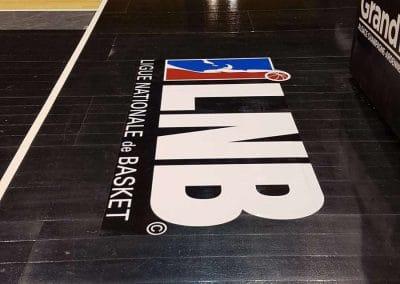 Marquage terrain de basket - LNB