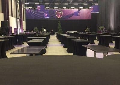 Habillage Arena Montpellier