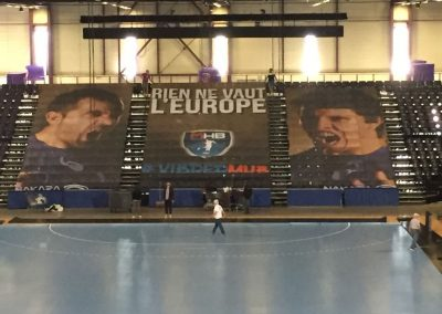 Tifo geant montpellier handball