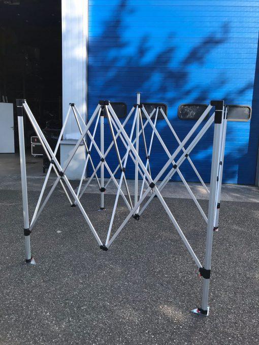 Structure alu barnum pliant 3x3 nakara sport