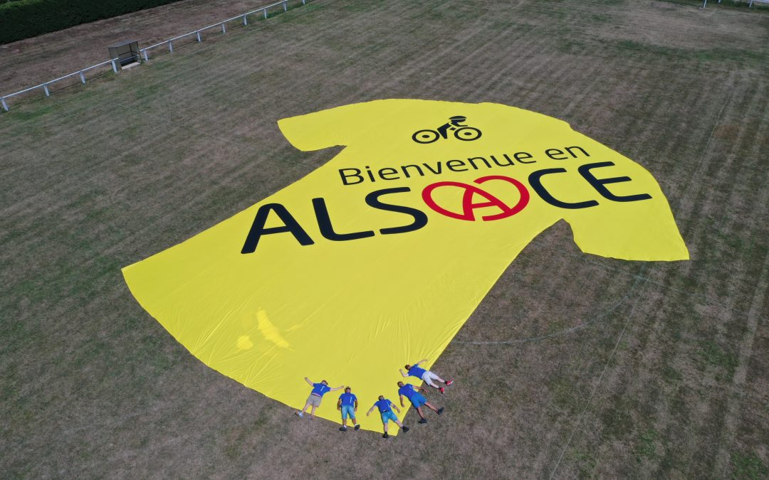 Nakara Sport habille l'Alsace aux couleurs du tour de France