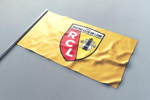 Drapeau supporter XXL RC-Lens