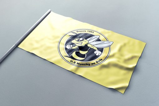 Nakara impression drapeau supporter