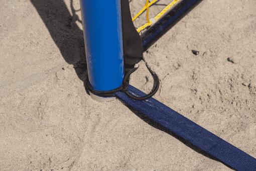 Attache ligne au but beach handball pro par Nakara Sport