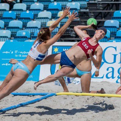 Beach Handball kit de lignes officielles competition IHF et EHF - Nakara Sport