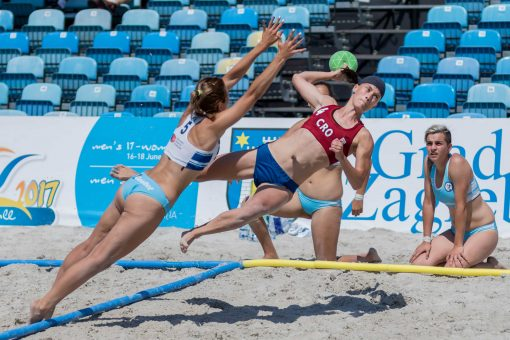 Beach Handball kit de lignes officielles competition IHF et EHF - Nakara Sport