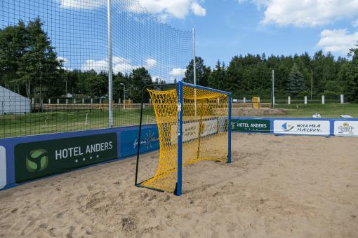 Equipement terrain beach handball nakara sport
