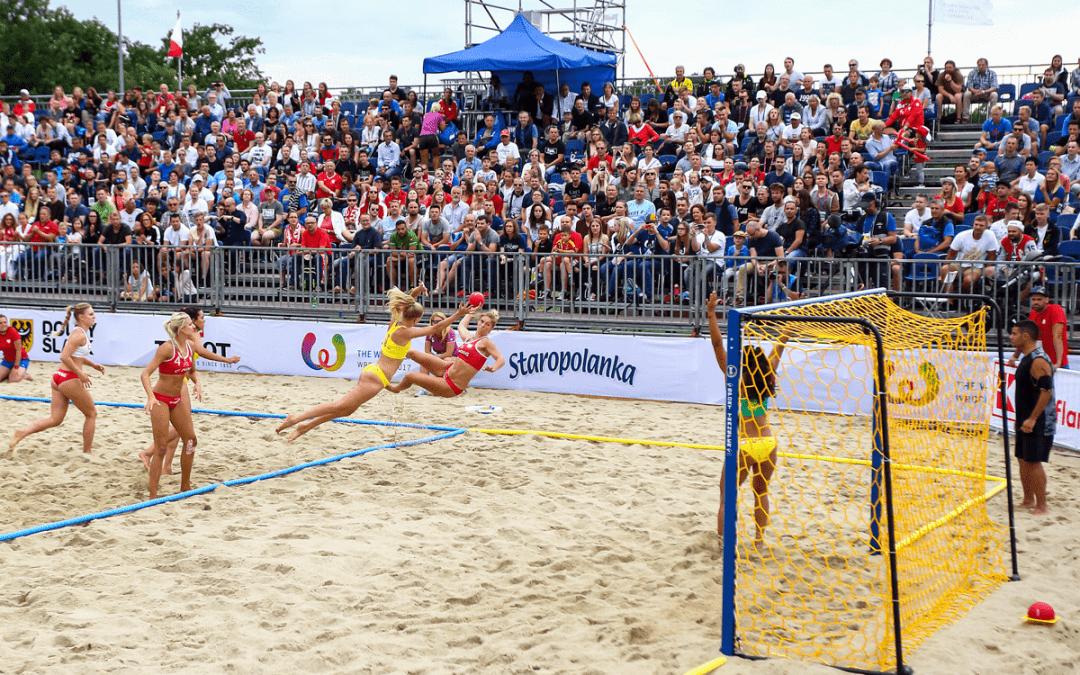Fournisseur equipement beach handball competition et tournoi Nakara sport
