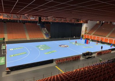 marquage publicitaire terrain handball-usam handball-nakara-sport