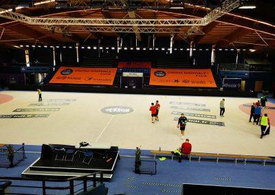 Habillage tribunes Istares G-Handball