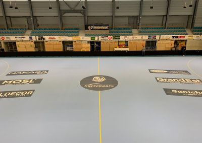 marquage sol sportif sarrebourg handball