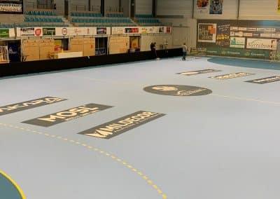 marquage terrain handball pro nakara sport