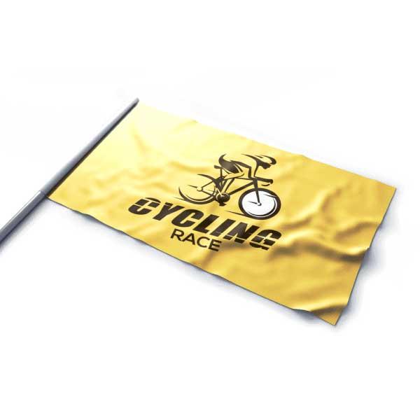 Impression de drapeau supporter aux couleurs de votre événement sportif